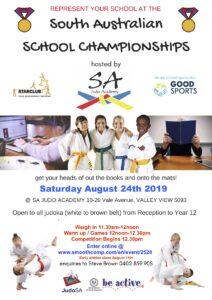 2019 SA School Championships @ SA Judo Academy