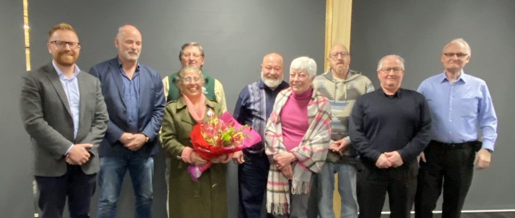 Life Members with Past and Present President